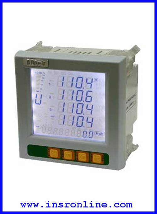 CPM-52 มิเตอร์วัดพลังงานไฟฟ้าและค่าความเพี้ยนฮาร์โมนิกเฉพาะ (Individual Harmonic Distortion, IHD)