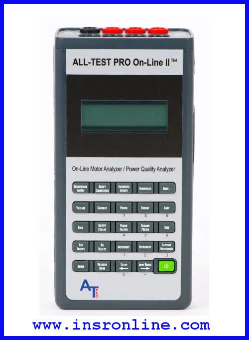 เครื่องวิเคราะห์สภาพมอเตอร์ ALL-TEST PRO On-Line II™